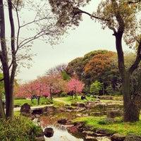 Photo taken at 藤田邸跡公園 by Izumi T. on 4/13/2014