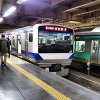 Photo taken at Platforms 9-10 by Izumi T. on 2/16/2013