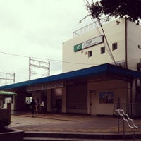 Photo taken at Kami-Nakazato Station by Izumi T. on 8/31/2014