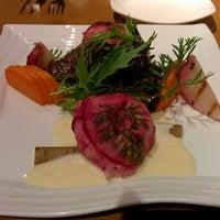 Photo taken at café szüret by Hidekichi on 11/24/2013