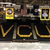 Photo taken at Stuart C. Siegel Center by Michelle P. on 11/3/2012