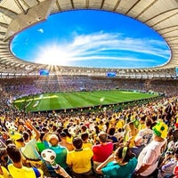 Photo taken at Mário Filho (Maracanã) Stadium by Claudia R. on 6/30/2013