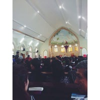 Photo taken at Gereja Katholik Santa Maria by han c. on 4/3/2015