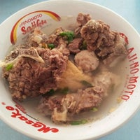 Photo taken at Bakso Aphin by amat b. on 11/6/2012