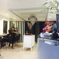 Photo taken at Patrice Coiffure   Bugambilias by Mayra D. on 7/24/2014