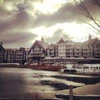 Photo taken at The Westin Trillium House, Blue Mountain by Kaila Q. on 12/22/2012