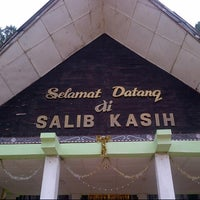 Photo taken at Salib Kasih Tarutung by agustina p. on 12/30/2012