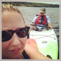Photo taken at Boating in Boston at Hopkinton State Park by Jennifer B. on 7/13/2013