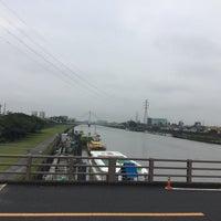 Photo taken at 鹿本橋 by 藤井 文. on 7/4/2015