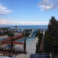 Photo taken at Lims Bona Dea Beach Hotel by Can A. on 3/11/2014