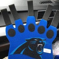Photo taken at Carolina Panthers Team Store by JD H. on 2/7/2016