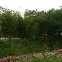 Photo taken at 沓掛城址 by Eitaro S. on 6/17/2014