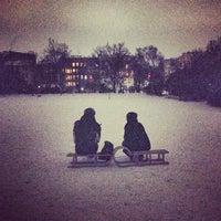 Foto tomada en Viktoriapark por Ina L. el 1/23/2013