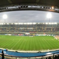 Foto scattata a Stadio Marc'Antonio Bentegodi da Michele B. il 3/30/2013