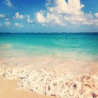 Photo taken at Punta Cana by Viviane F. on 3/1/2013