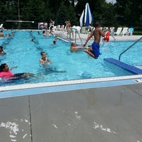 Photo taken at LaCresent Aquatic Center by Von R. on 7/2/2013