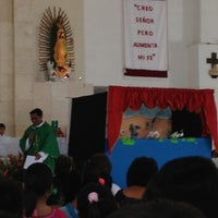 Photo taken at Iglesia Del Buen Pastor by Fernando S. on 10/28/2012