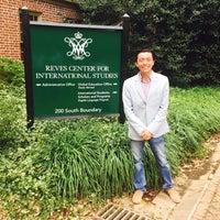 Photo taken at Reves Center for International Studies by Roberto F. on 9/30/2016