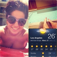 Photo taken at The Pool @ Poinsettia Apartments by Екатерина Г. on 4/20/2013