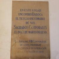 Photo taken at Parroquia de la Asunción de Nuestra Señora Hermandad de los Santos Corporales by Carlos L. on 12/14/2013