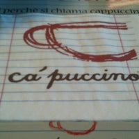 Photo taken at Ca' Puccino by Alexandra G. on 2/6/2013