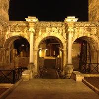 Photo taken at Hadrian's Gate by Bur@k P. on 1/28/2013
