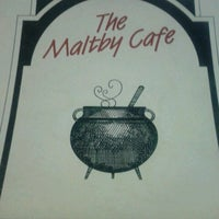 Photo taken at The Maltby Cafe by Bernell on 7/25/2013