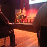 Photo taken at Crawford Family Forum by Ana M. on 10/2/2012
