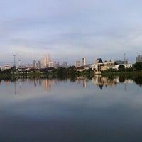 Photo taken at Taman Tasik Ampang Hilir by Lynn H. on 12/22/2012