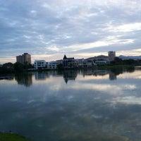 Photo taken at Taman Tasik Ampang Hilir by Lynn H. on 10/19/2012