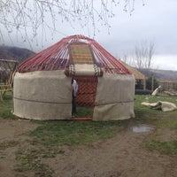 "Photo taken at Хостел ""ашу"" by Alexandr C. on 4/26/2014"