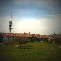 Photo taken at Park Parukářka by Heli on 4/16/2013