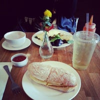 Photo taken at Bluebird Sky by Anna L. on 10/12/2012