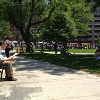 Photo taken at Franklin Square Park by Hanan N. on 5/17/2013
