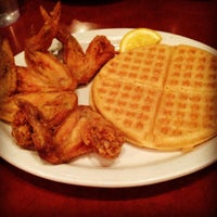 Photo taken at Gladys Knight's Signature Chicken & Waffles by Melissa B. on 12/15/2012