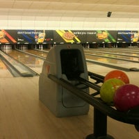 Photo taken at AMF All Star Lanes by Alfonso H. on 10/4/2012