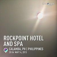 Photo taken at Rockpoint Hotspring Resort and Spa by Aldrin Dale G. on 5/14/2013