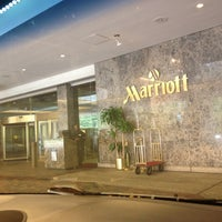 Photo taken at Crystal Gateway Marriott by Cortney C. on 10/27/2012