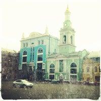 Снимок сделан в Контрактовая площадь пользователем SmaLL Й. 4/24/2013
