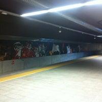 Photo taken at Estación de Goya by Alejandro G. on 7/11/2013