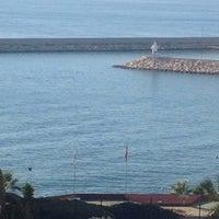 Photo taken at marina plajı by .... A. on 10/1/2014