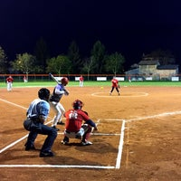 Photo taken at Campo Baseball Porpetto by Diego D. on 4/29/2015