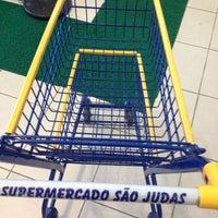 Photo taken at Supermercado São Judas Tadeu by Joao Carlos L. on 7/11/2013