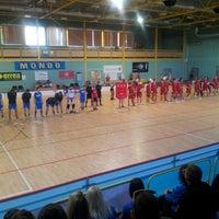 Photo taken at Lielvardes Sporta Halle by Linda S. on 3/16/2013