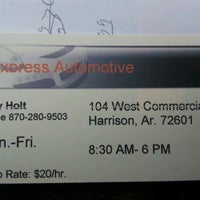 Photo taken at Express Automotive by Cory H. on 11/30/2012