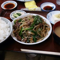 Photo taken at 美代志食堂 by shu_ma on 6/22/2013
