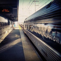 Photo taken at Bridgeport Train Station (BRP) - Metro North & Amtrak by David M. on 12/23/2012