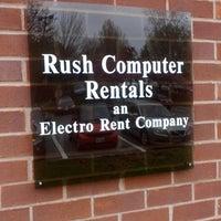 Photo taken at Rush Computer Rentals by John H. on 4/18/2013