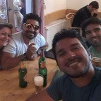 Photo taken at Bistro Winnetou by Tiago O. on 7/27/2014