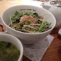 Photo taken at nana's green tea 熊本パルコ店 by あみか #. on 1/9/2014